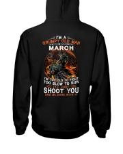 Grumpy old man March tee Cool T shirts for Men Hooded Sweatshirt thumbnail