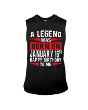 16th January legend Sleeveless Tee thumbnail