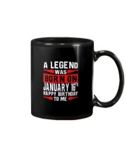 16th January legend Mug thumbnail