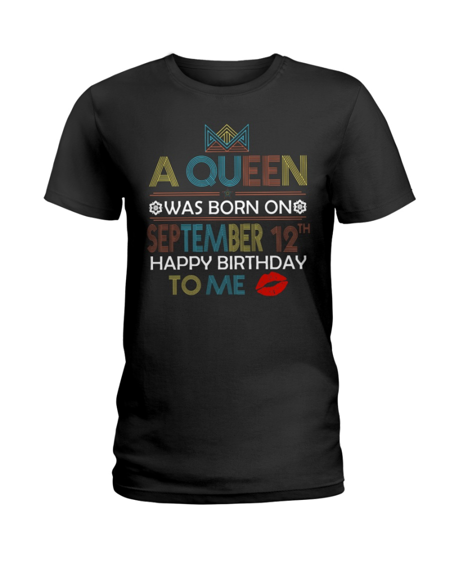 12 SEPTEMBER Ladies T-Shirt