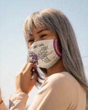 H-OCTOBER GIRL Cloth face mask aos-face-mask-lifestyle-20