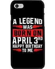 3rd April legend Phone Case thumbnail