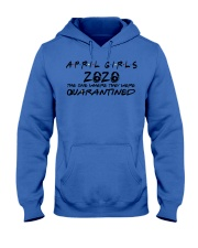 H - APRIL GIRL Hooded Sweatshirt thumbnail