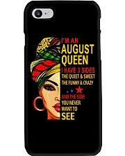 AUGUST QUEEN-D Phone Case thumbnail