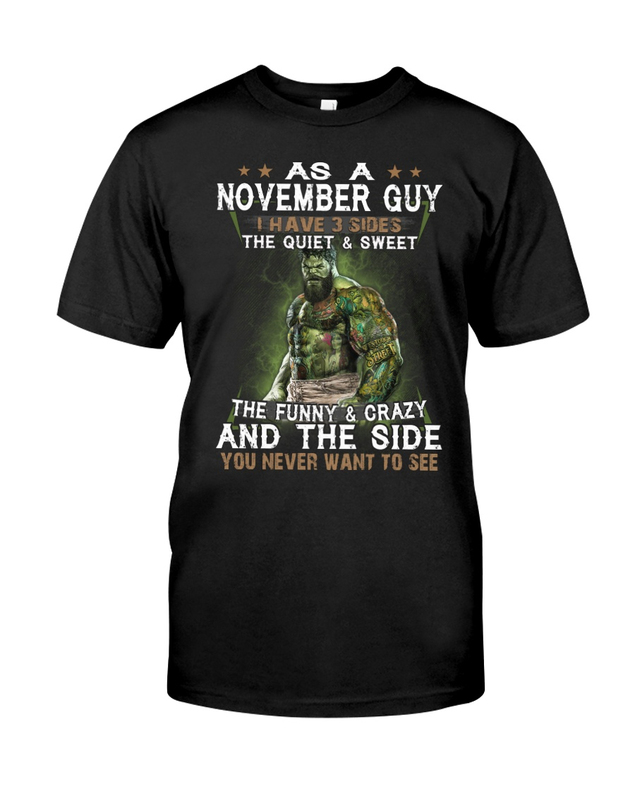 NOVEMBER GUY Classic T-Shirt