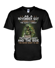 NOVEMBER GUY V-Neck T-Shirt tile