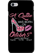 OCTOBER QUEEN Phone Case thumbnail