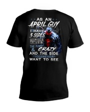 APRIL MAN V-Neck T-Shirt thumbnail