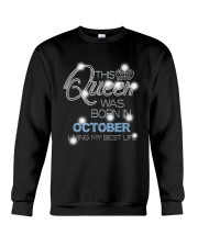 OCTOBER QUEEN Crewneck Sweatshirt thumbnail