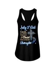 28th july christ Ladies Flowy Tank thumbnail