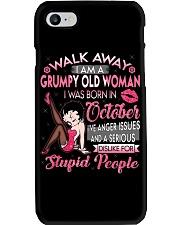 H - GRUMPY OLD WOMAN OCTOBER Phone Case thumbnail