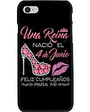 UNA REINA JUNIO 4-V Phone Case thumbnail