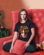 JULY QUEEN Ladies T-Shirt lifestyle-holiday-womenscrewneck-front-2
