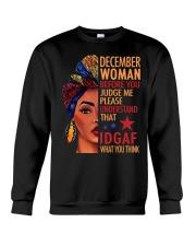 DECEMBER WOMAN Crewneck Sweatshirt tile