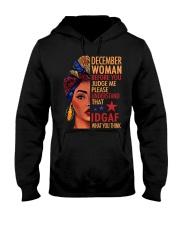 DECEMBER WOMAN Hooded Sweatshirt tile