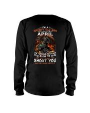 Grumpy old man April tee Cool T shirts for Men Long Sleeve Tee thumbnail