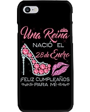 28 de Enero  Phone Case tile