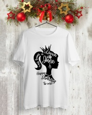 JUNE QUEEN Classic T-Shirt lifestyle-holiday-crewneck-front-2