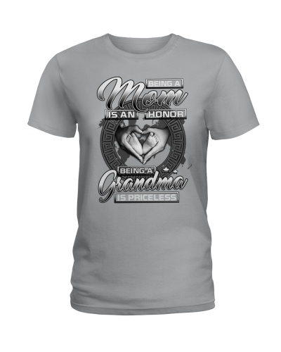 Graphic Printed Tee Shirts for Grandma-LHA