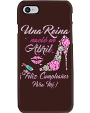 Una Reina Abril Phone Case thumbnail