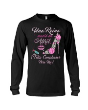 Una Reina Abril Long Sleeve Tee front