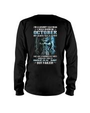 H - OCTOBER MAN Long Sleeve Tee thumbnail