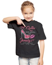 JANUARY QUEEN Youth T-Shirt lifestyle-youth-tshirt-front-2