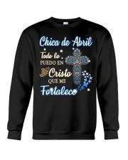 Chica de Abril Crewneck Sweatshirt thumbnail