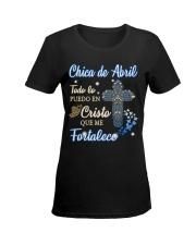 Chica de Abril Ladies T-Shirt women-premium-crewneck-shirt-front