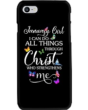 January Girl Phone Case thumbnail