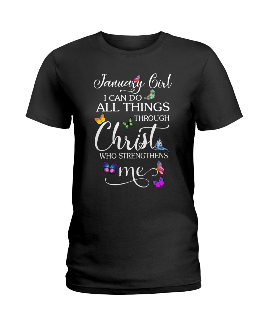 January Girl Ladies T-Shirt