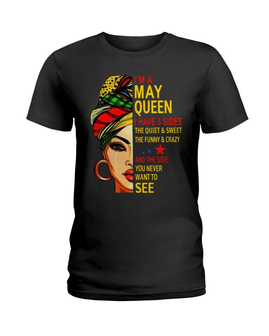 MAY QUEEN-D Ladies T-Shirt