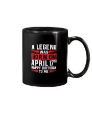 17th April legend Mug thumbnail