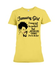 January Girl Premium Fit Ladies Tee thumbnail