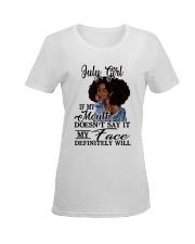 JULY GIRL Ladies T-Shirt women-premium-crewneck-shirt-front