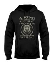 AUGUST KING 6 Hooded Sweatshirt tile