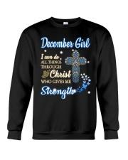 December Girl Z Crewneck Sweatshirt thumbnail