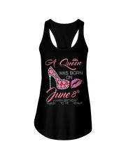 8th JUNE Ladies Flowy Tank thumbnail