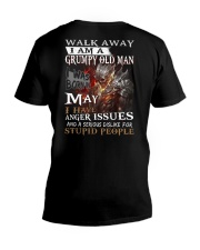 H - GRUMPY OLD MAN M5 V-Neck T-Shirt thumbnail