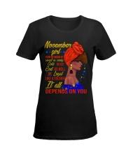 NOV GIRL Ladies T-Shirt women-premium-crewneck-shirt-front