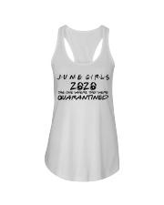 H - JUNE GIRL Ladies Flowy Tank thumbnail