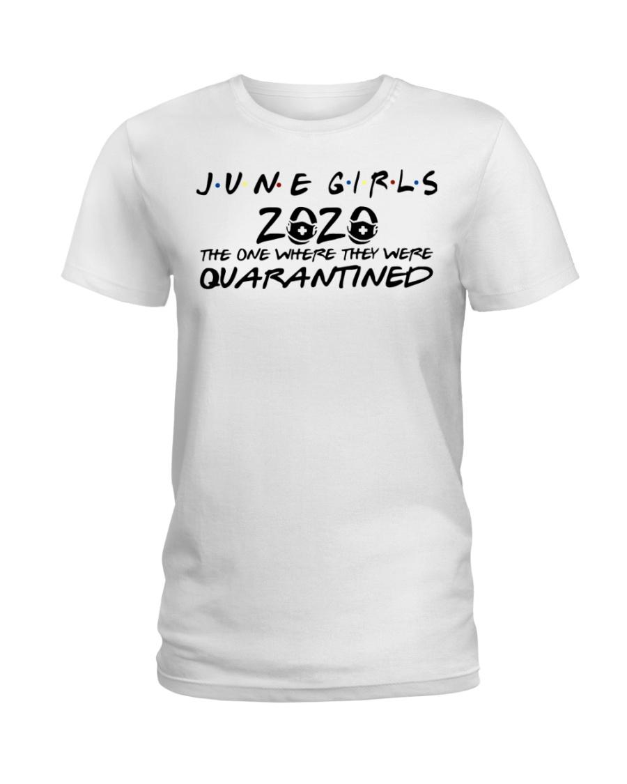H - JUNE GIRL Ladies T-Shirt