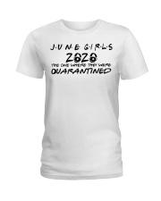 H - JUNE GIRL Ladies T-Shirt front