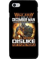 DECEMBER MAN  Phone Case tile