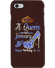 JANUARY QUEEN Phone Case tile