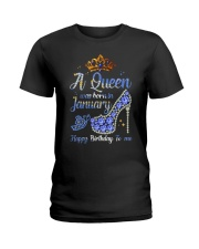 JANUARY QUEEN Ladies T-Shirt front