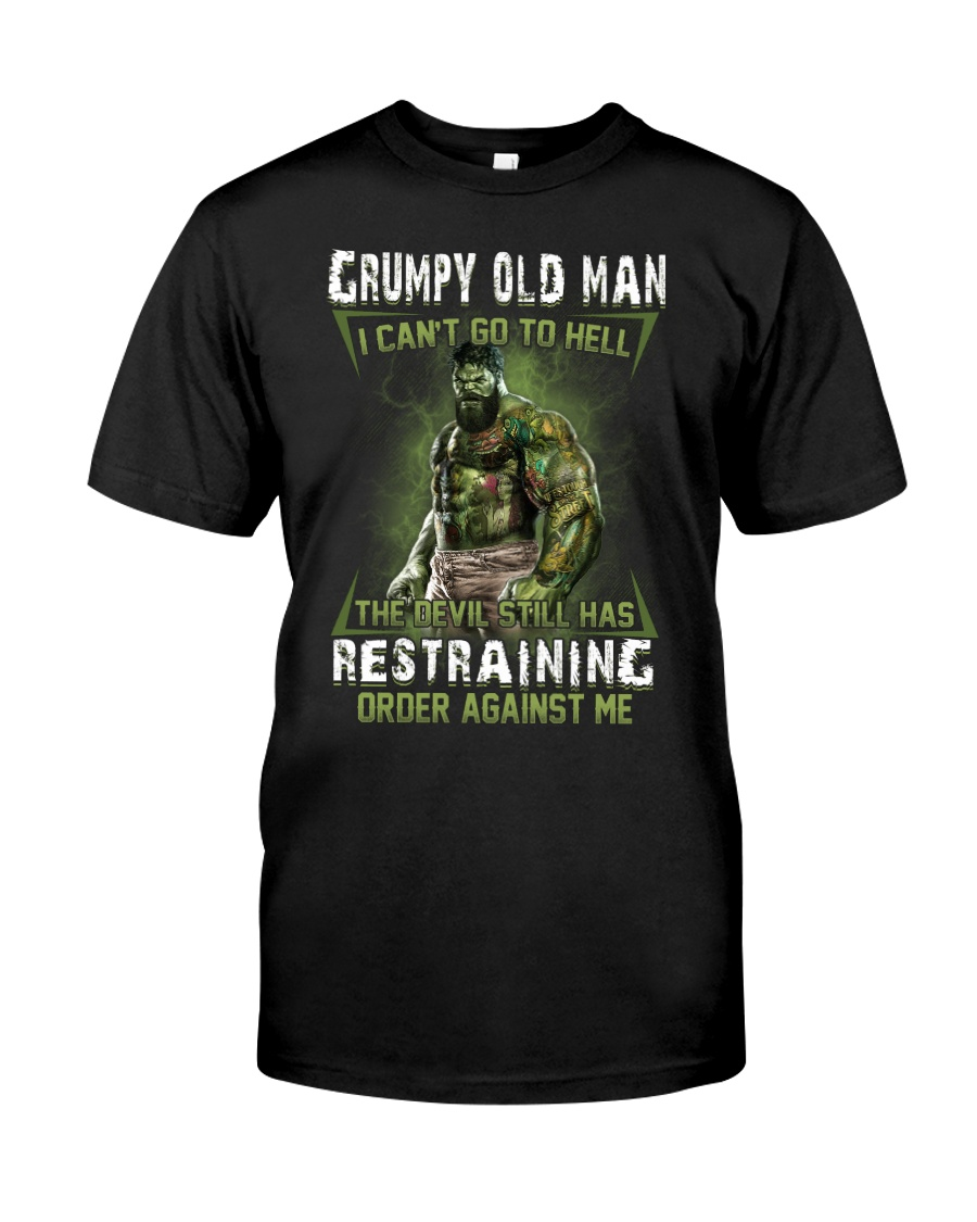 H- GRUMPY OLD MAN Classic T-Shirt