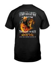 H - FEBRUARY MAN Classic T-Shirt back