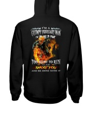 H - FEBRUARY MAN Hooded Sweatshirt thumbnail