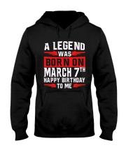 7th March legend Hooded Sweatshirt thumbnail